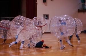第2回能代市体育協会バブルサッカー大会