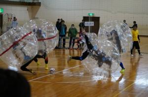 第1回 能代市バブルサッカー大会 【試合結果】